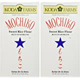 Koda Farms Mochiko Sweet Rice Flour Pack of Two 16oz Per Pck