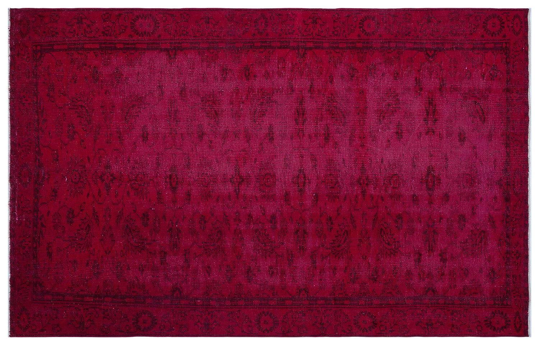 Bespoky ビンテージ 手織 ラグ 赤 大きいサイズ 188 X 295 Cm  B07HNSW93V