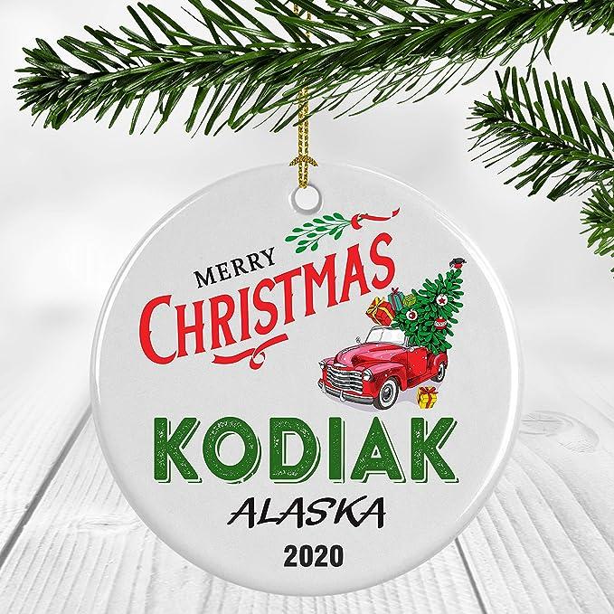 Christmas 2020 Alaska Events Amazon.com: Winter Holiday Keepsake Gift   Christmas Ornament 2020