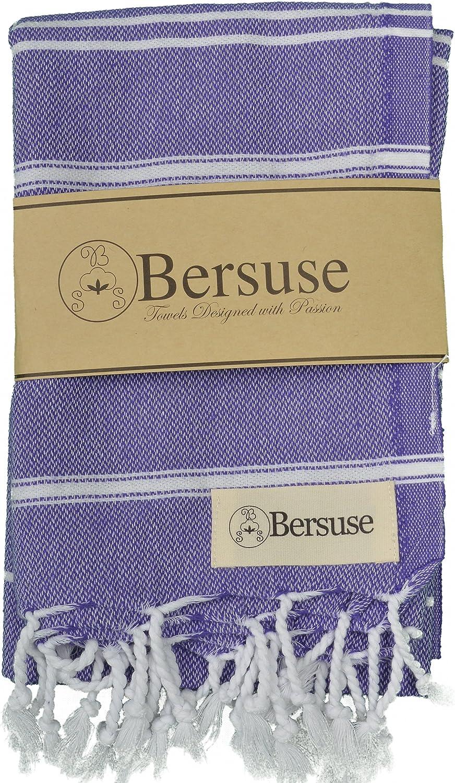 Asciugamano Viso-Mani Turco 60 x 110 cm Rosso Bersuse 100/% Cotone Anatolia