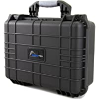 "CLOUD/TEN 16"" Smell Odor Block Waterpipe Case Fits up to 13.5"" Glass Pieces with Impact Absorbing Protective Customizable Foam - Ideal for Water Pipe, Oil Rigs and Accessories"