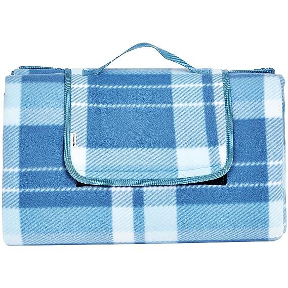 AmazonBasics - Manta para pícnic con base impermeable, 200 x ...