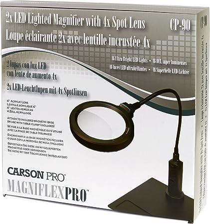 Carson pro series Magnivisor head porté led lumineux loupe avec 4 inter.. neuf