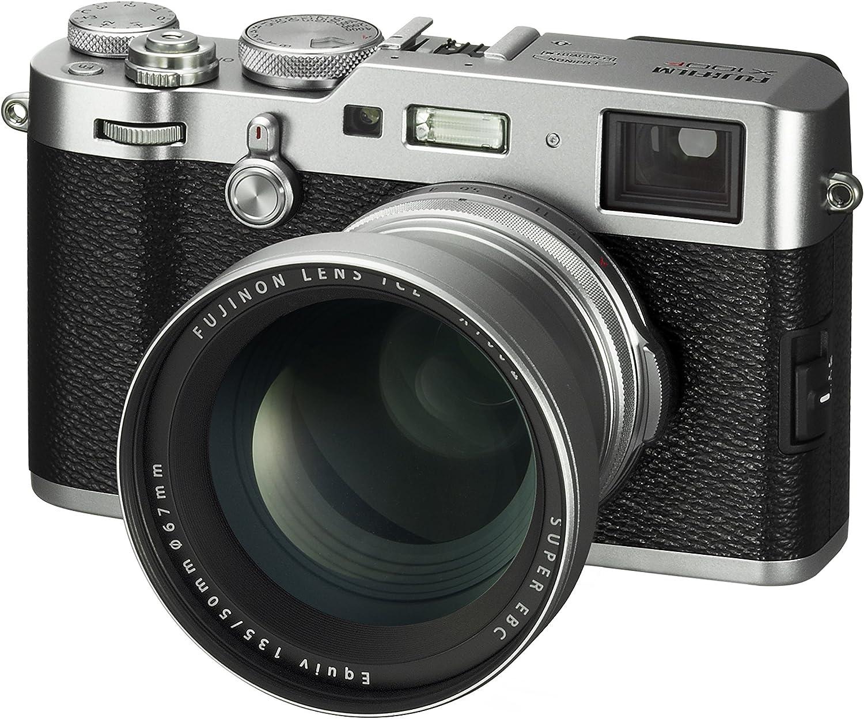Fujifilm Fujinon Tele Conversion Lens for X100 Series Camera TCL-X100 S II Silver