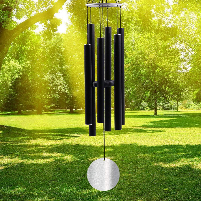 for Garden Terrace Decoration TENFUN Manual Striking Wind Chime ...
