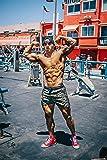 YoungLA Men's Bodybuilding Lift Shorts