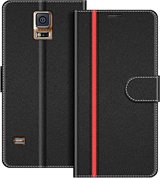 COODIO Funda Samsung Galaxy S5 con Tapa, Funda Movil Samsung S5 ...