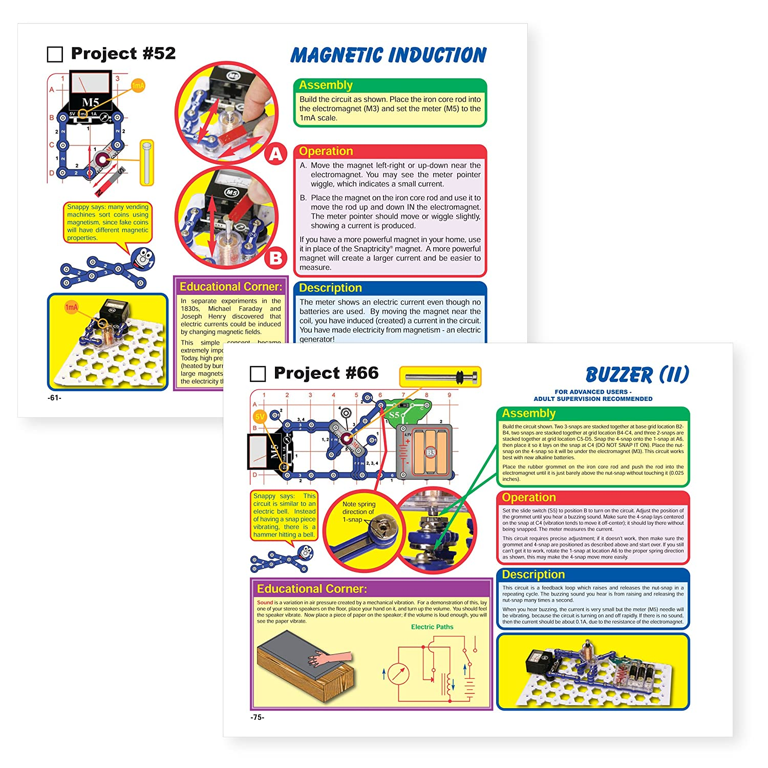 Snap Circuits Snaptricity Electronics Discovery Kit Buy Elenco Green Alternative Energy Online At Low Toys Games