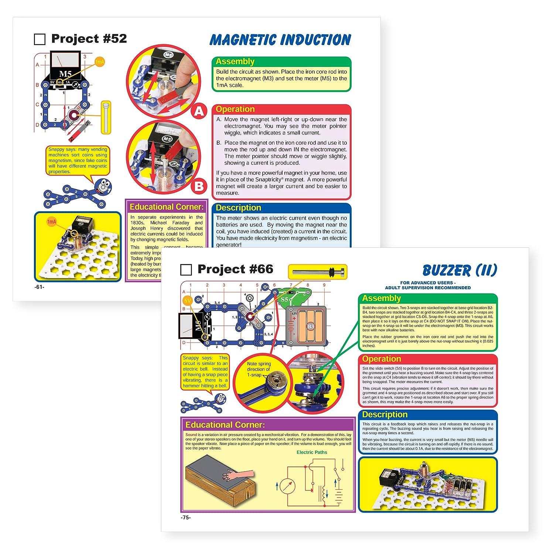 Elenco Snap Circuits Snaptricity Electronics Kits Amazon Canada Motion Scm165
