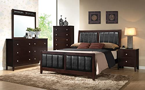 Coaster Carlton Eastern King Size Panel Bed