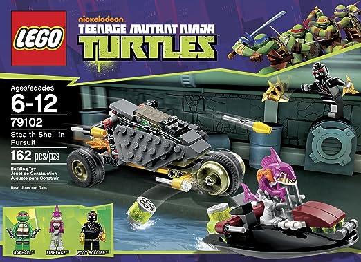 Amazon.com: LEGO 79102 - Concha de las Tortugas Ninja en ...