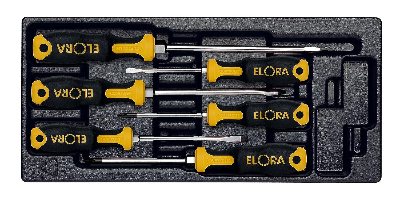 6 Piece Elora 537001000 MS-37 2c-screwdriver Set
