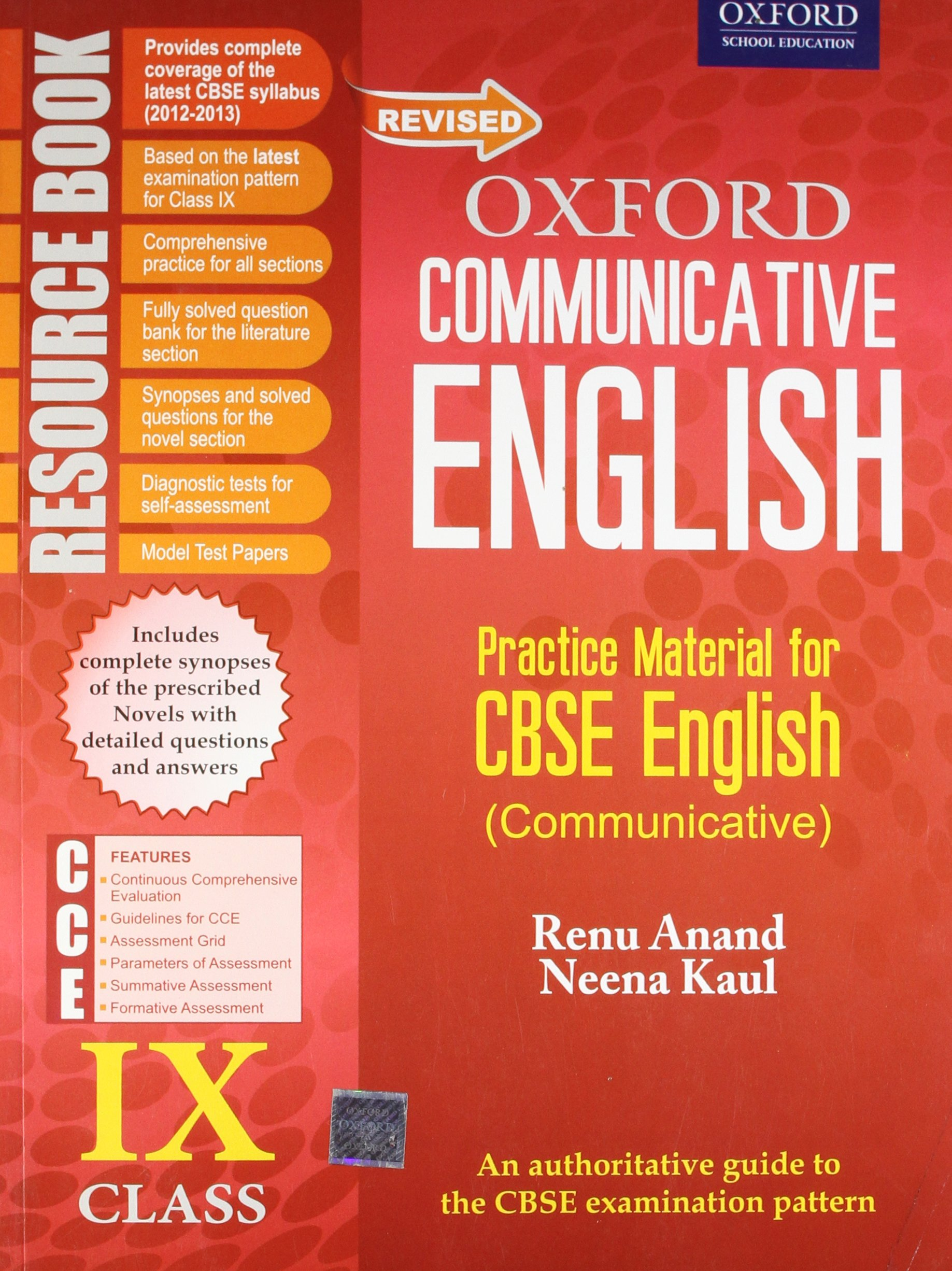Buy Revised Oxford Communicative English Resource Book: Class IX Book  Online at Low Prices in India | Revised Oxford Communicative English  Resource Book: ...