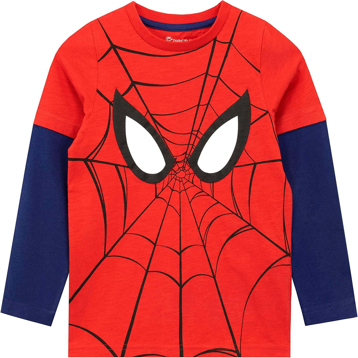 Marvel Boys Spiderman Long Sleeved Top