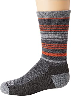 product image for Wigwam Kids Highline Pro Socks, Color: Red Clay, Size: YS (F6194-327-YS)
