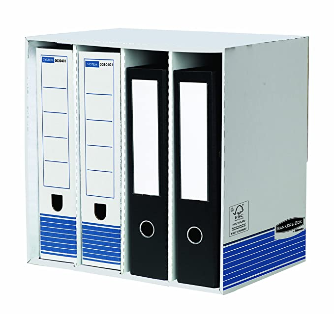 Amazon.com: Fellowes Bankers Box Archivo de sistema Caja de ...