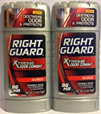 Right Guard Xtreme Odor Combat 2.6 Ounce Surge Solid (76ml) (2 Pack)