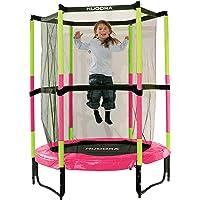 Hudora Kinder-trampolin Jump en avec réseau de sécurité - 140 cm