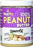 NutVit 100% Peanut Butter Smooth, 1er Pack (1 x 1 l)