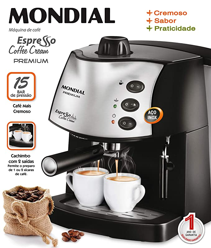c76678b92 Maquina de Cafe Espresso Coffee Cream