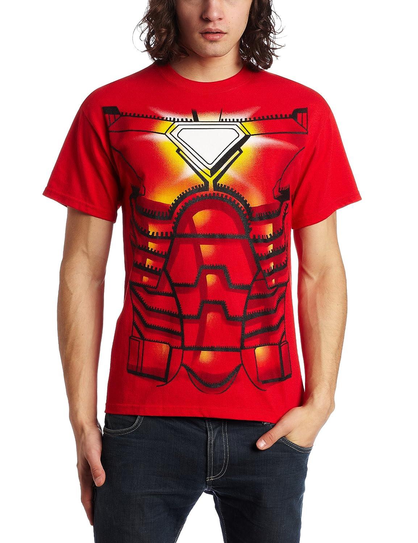 Mad Engine Mens Iron Man T Shirt Red X Large Novelty Ironman Tees Shirts Clothing
