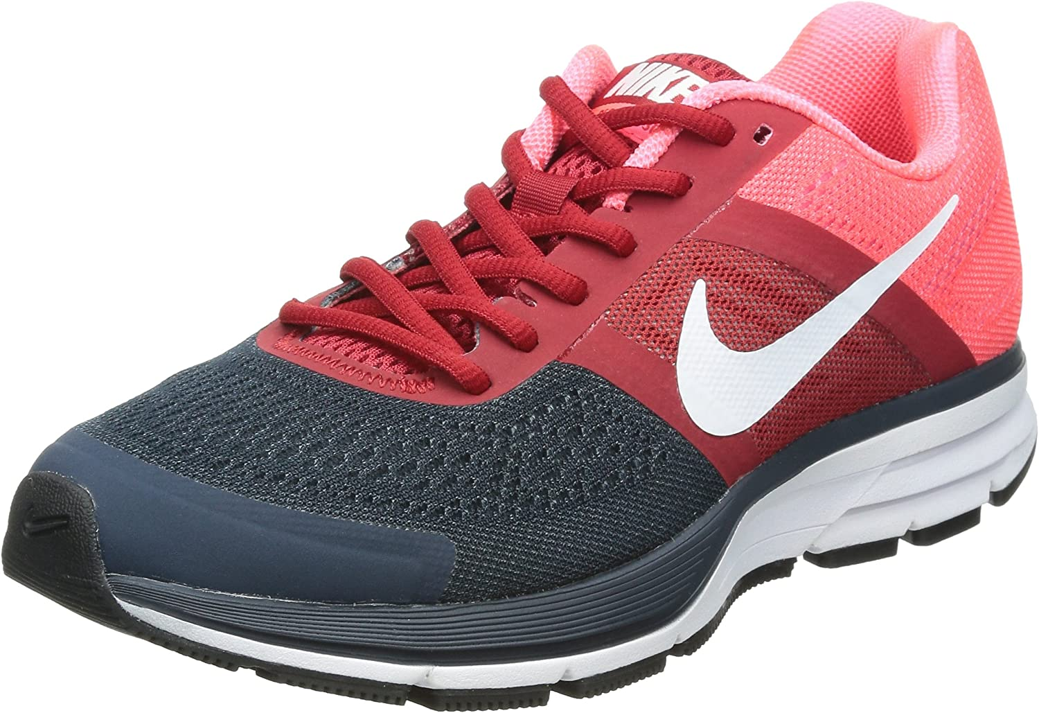 En otras palabras tenis Costoso  Amazon.co.jp: Nike (Nike) Running Shoes Air Pegasus + 30 599205 – 614 Pink  X Red X White X Black: Shoes & Bags
