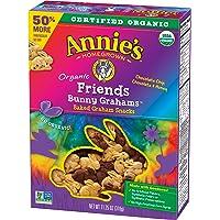 Annie's Organic Friends Bunny Grahams Chocolate Chip, Chocolate & Honey Baked Snacks, 11.25 oz