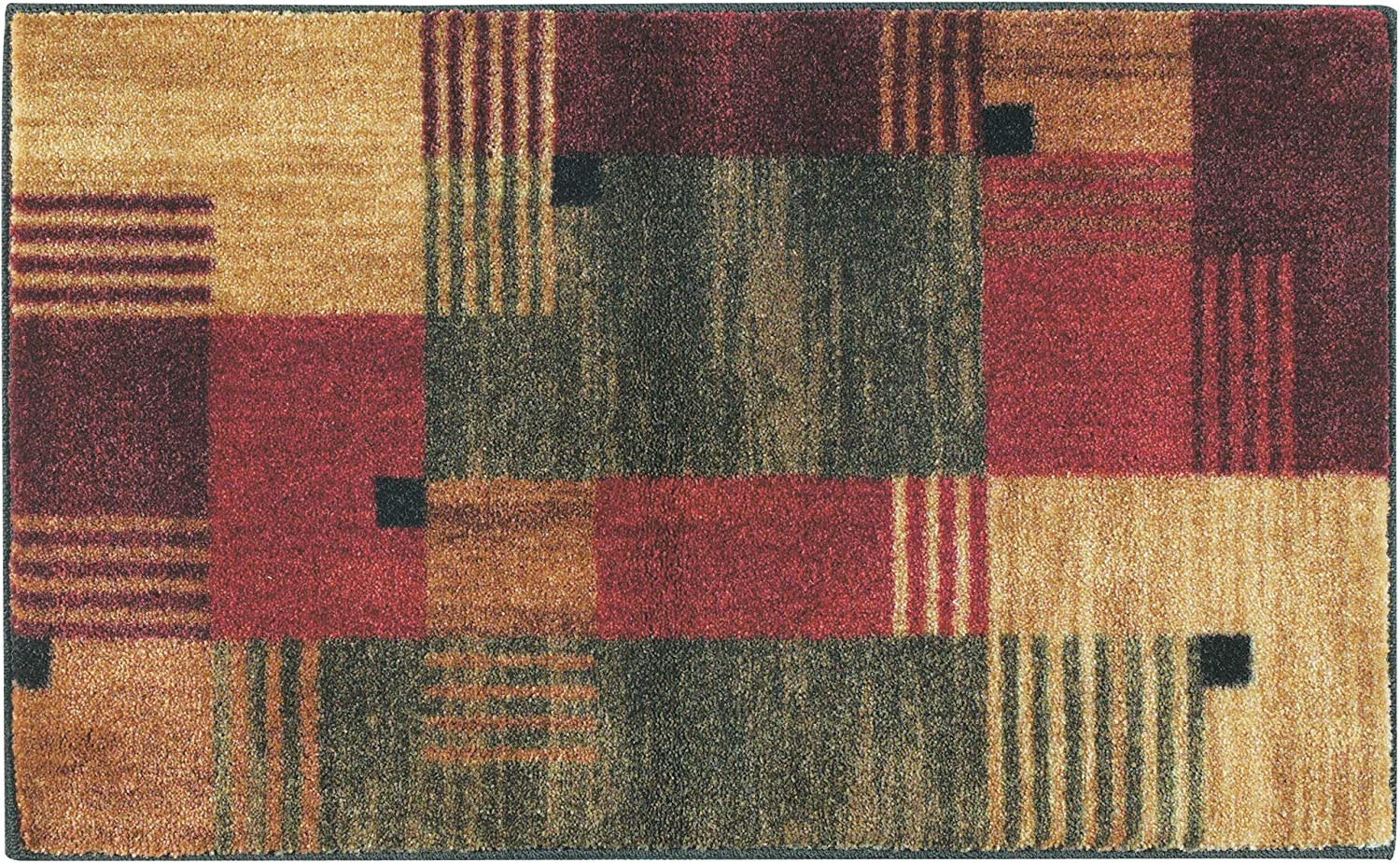 Mohawk Home New Wave Alliance Geometric Printed Area Rug,1'8x2'10,Multicolor