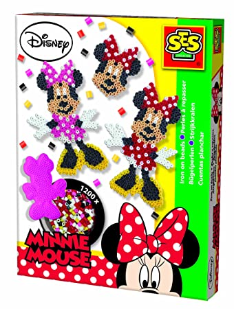 Ses 14737 Minnie Mouse Bügelperlenset 1200 Stück Amazonde