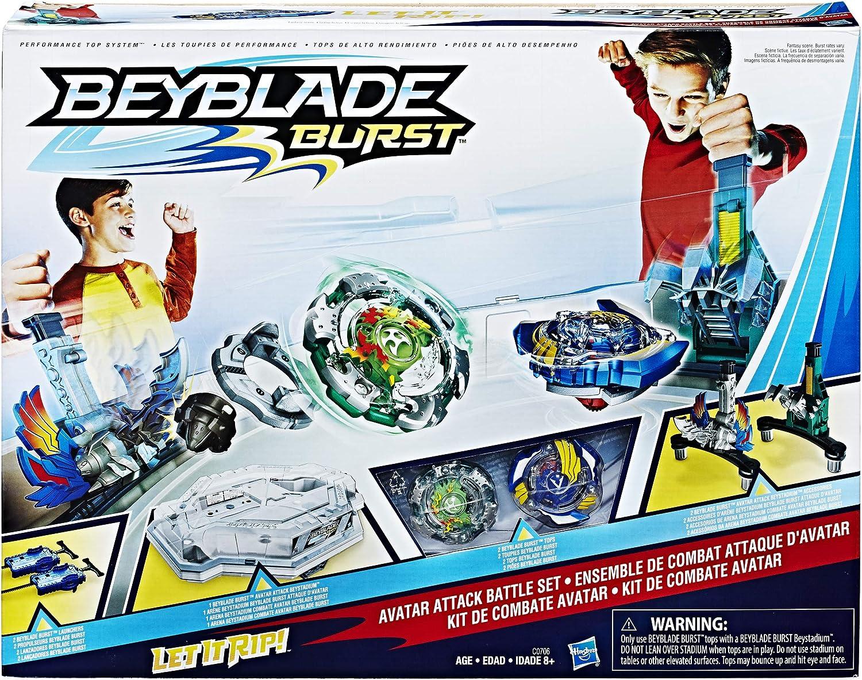 Amazon.com: BEYBLADE Burst Avatar Attack Battle Set ...