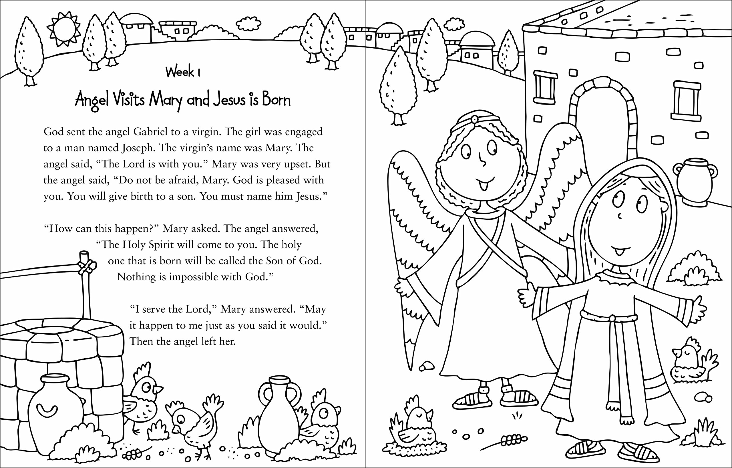 My Bible Story Coloring Book The Books Of Zondervan 9780310761068
