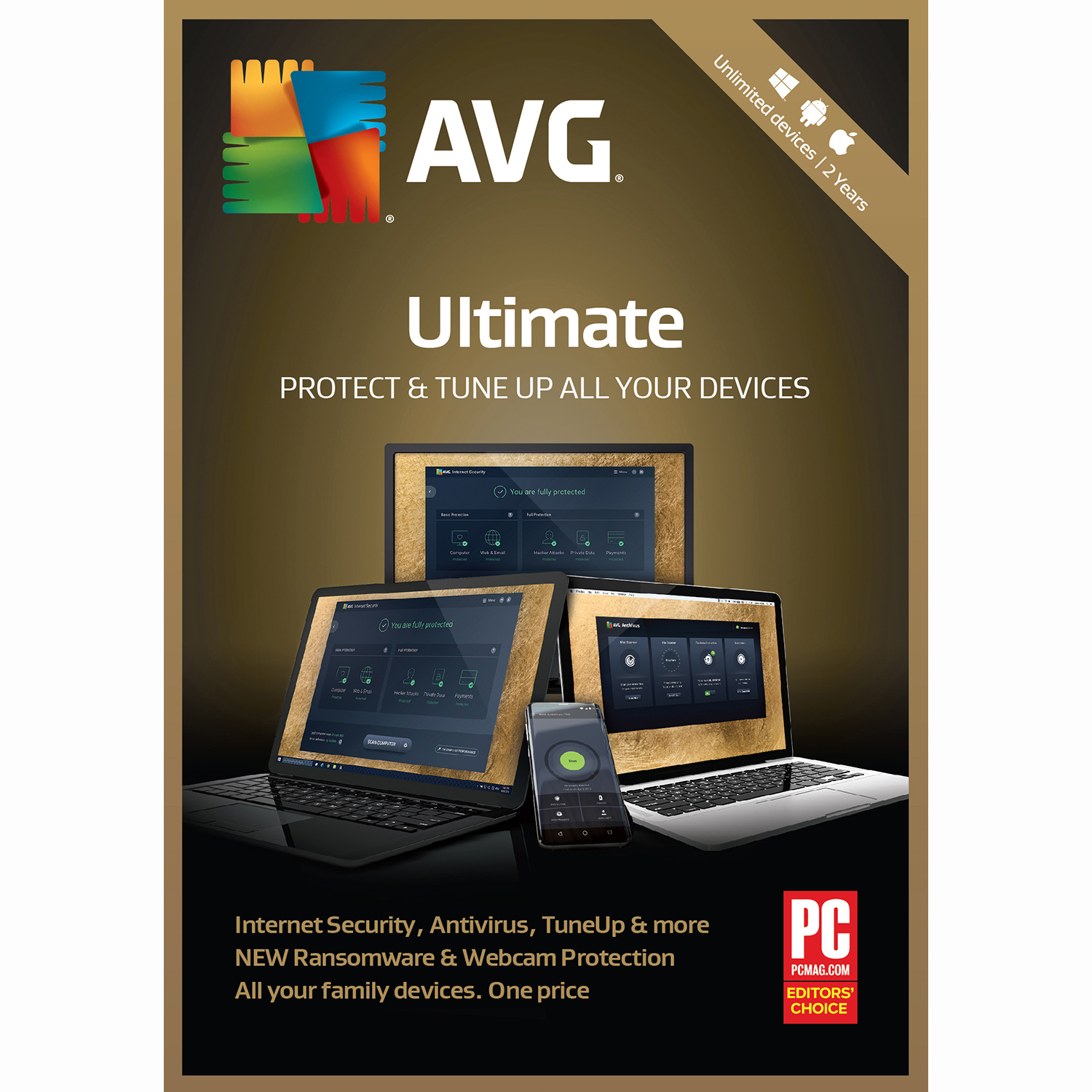 AVG Ultimate 2019 Unlimited 2 Years [Download] by AVG Technologies