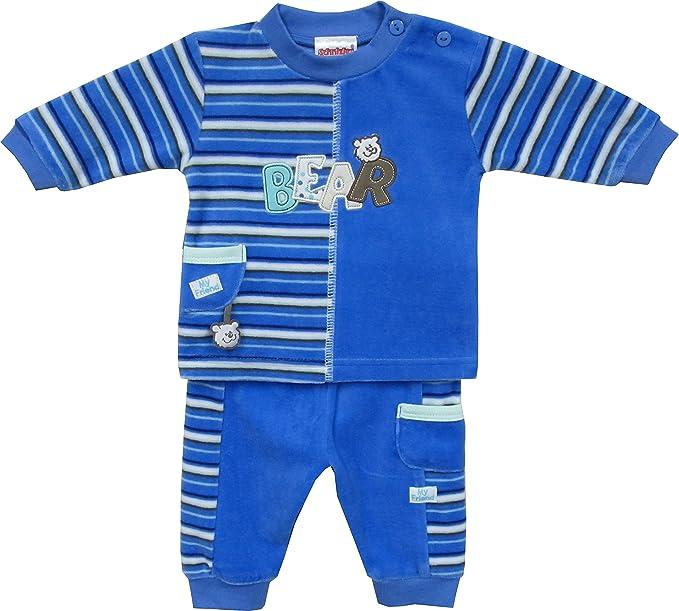 Schnizler Nickianzug Bear - Chándal Bebé-Niños, Azul (original 900 ...