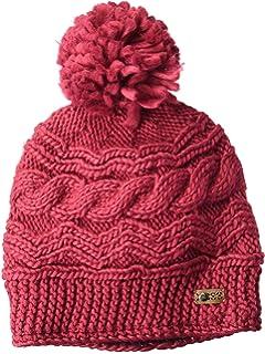 55e85487259 Volcom Women s Chevron Chunky Silk Acrylic Yarn Snow Beanie at ...