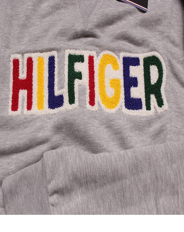 Tommy Hilfiger - Sudadera - para Hombre Gris L: Amazon.es: Ropa y accesorios