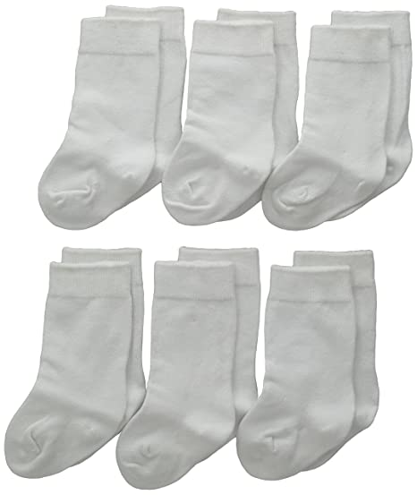 4e5d53484 Jefferies Socks Unisex-Baby Newborn Seamless Cotton Knee High 6 Pair Pack