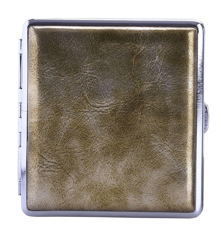 vintage oro metallizzato Portasigarette
