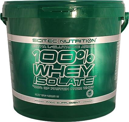 Scitec Nutrition Whey Isolate proteína vainilla 4000 g