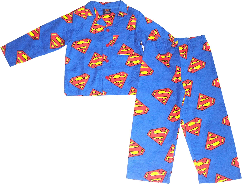 Superman - Pijama Dos Piezas - Manga Larga - para niño: Amazon.es: Ropa y accesorios