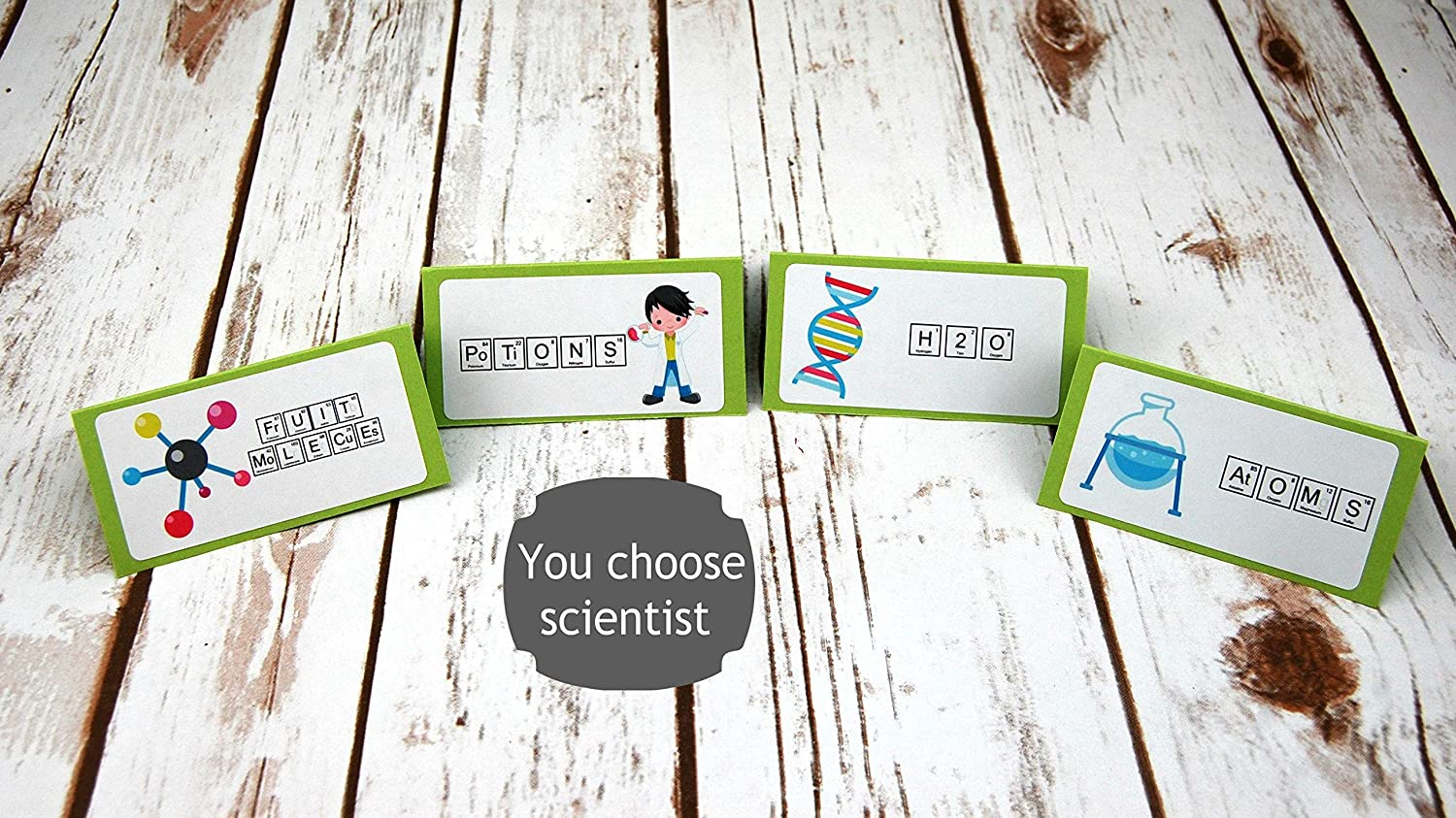 Science Food Label Science Place Card editable INSTANT DOWNLOAD printable at home Science Buffet Cards Science Party Buffet Tag