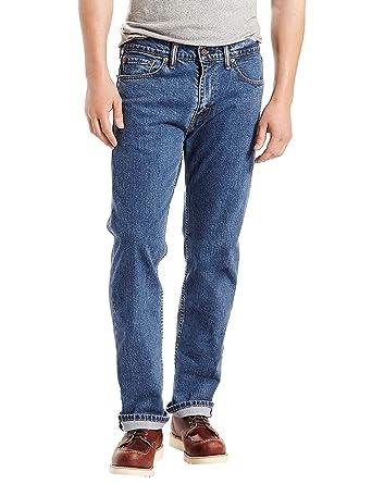 33c6226fa67a6 Levi's Men's 505 Regular Fit Jean, Stonewash-Stretch, 36 32: Amazon ...