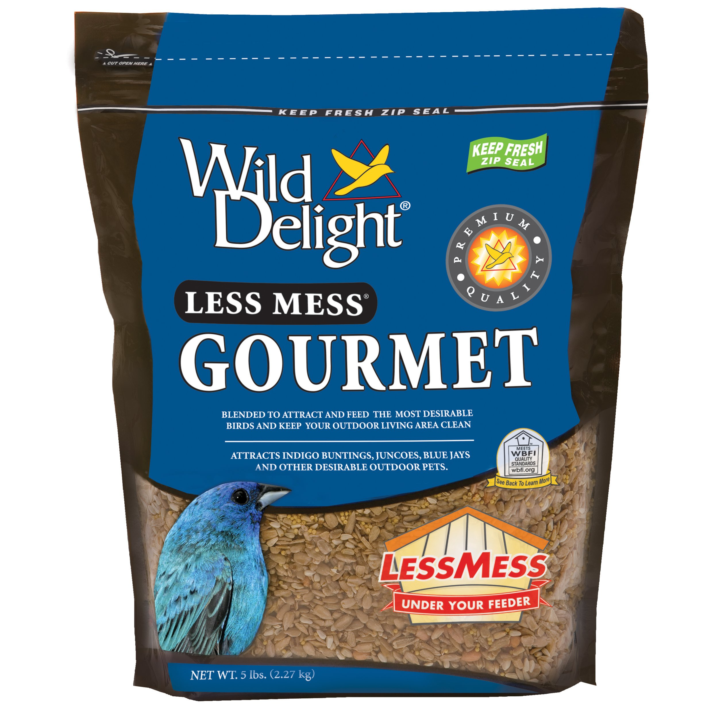 Wild Delight Less Mess Gourmet Food, 5lb by Wild Delight