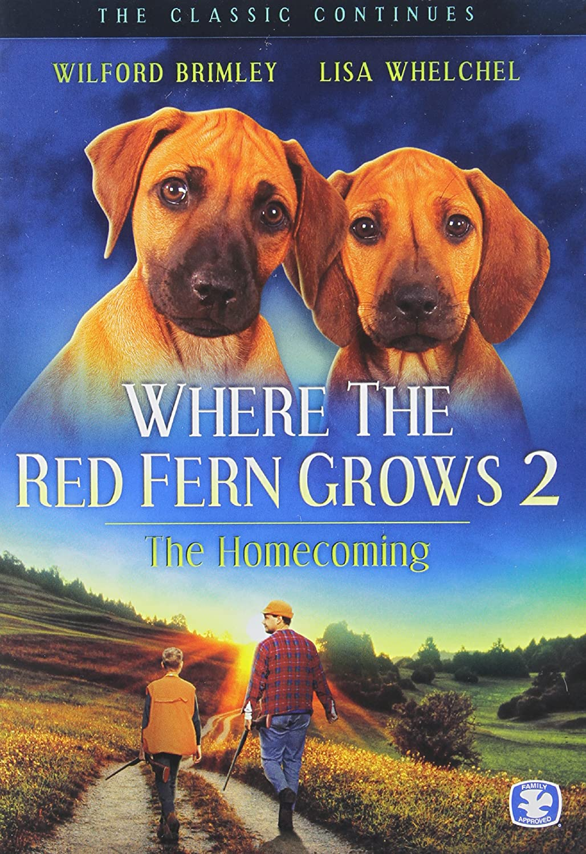 WHERE THE RED FERN GROWS 2 Doug McKeon Wilford Brimley Chad McQueen Jim McCullough Sr.