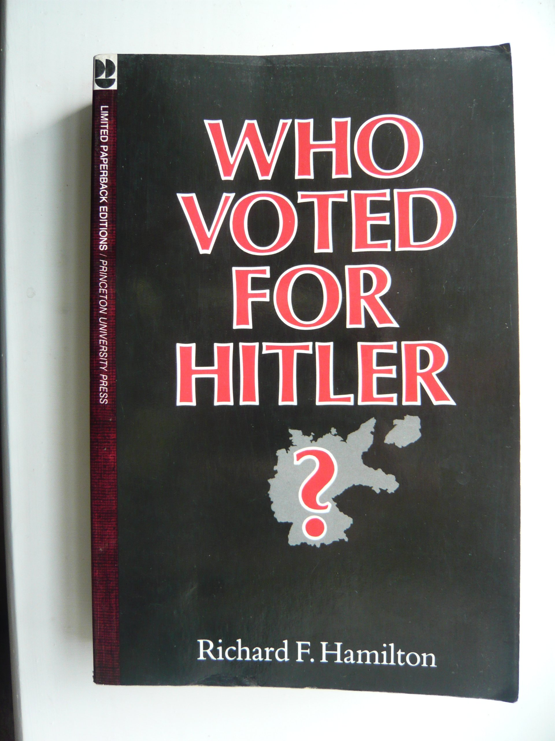 Who Voted for Hitler? (Princeton Legacy Library) pdf