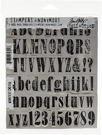 Tim Holtz Stampers Anonymous Clear Stamp Set The Journey