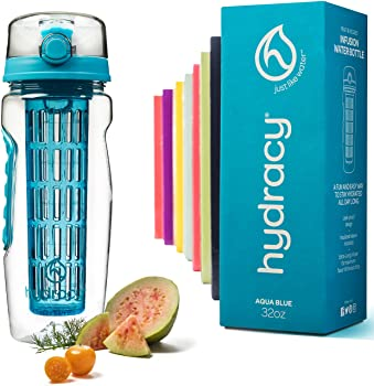 Hydracy Fruit Infused Water Bottle