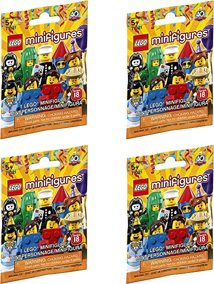 LEGO 71021 SERIES 18 MINIFIGURES SPIDER SUIT BOY MINIFIGURE *UNOPENED PACKAGE*