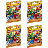 LEGO Minifigure Series 18 - New Sealed Blind Bags - Random Set of 4 (71021)