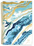 "Bloom Daily Planners 2018-2019 Academic Year Day Planner - Monthly and Weekly Calendar Book - Inspirational Dated Agenda Organizer - (August 2018 - July 2019) - 6"" x 8.25"" - Geode"