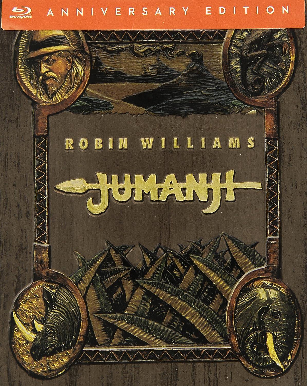 Jumanji Steelbook 20° Anniversario Blu-Ray Italia Blu-ray: Amazon ...